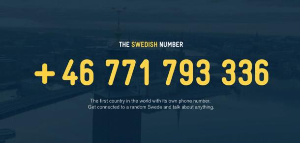 İsveç'ten sıradışı bir kampanya