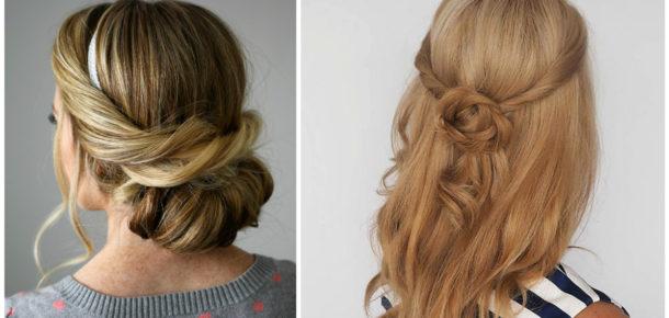 10 dakikada uygulayabileceğiniz havalı ve kolay 9 saç modeli
