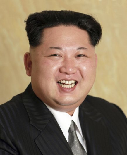 In this photo distributed on Wednesday, May 11, 2016, by the North Korean government, Kim Jong Un, endorsed as party chairman of North Korean Workers' Party at the Workers' Party congress on May 9, poses for a photo. North Korean state media on Wednesday released high-resolution mug shots of more than two dozen top officials, including leader Kim Jong Un, that appear to be missing something Pyongyang-watchers have come to expect: signs of retouching. (Korean Central News Agency/Korea News Service via AP) JAPAN OUT UNTIL 14 DAYS AFTER THE DAY OF TRANSMISSION