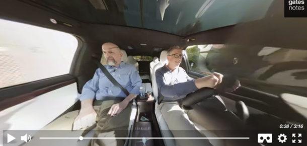 Bill Gates ve ünlü yazar Neal Stephenson konuşmasını 360 derece izleyebilirsiniz