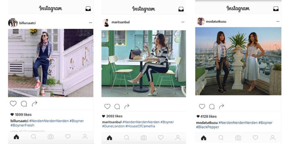 Boyner'den Instagram'da binlerce like almanın sırları
