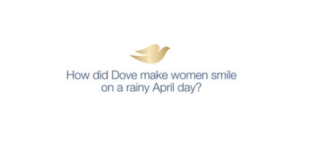 Dove'dan hava durumuna duyarlı akıllı bilboard