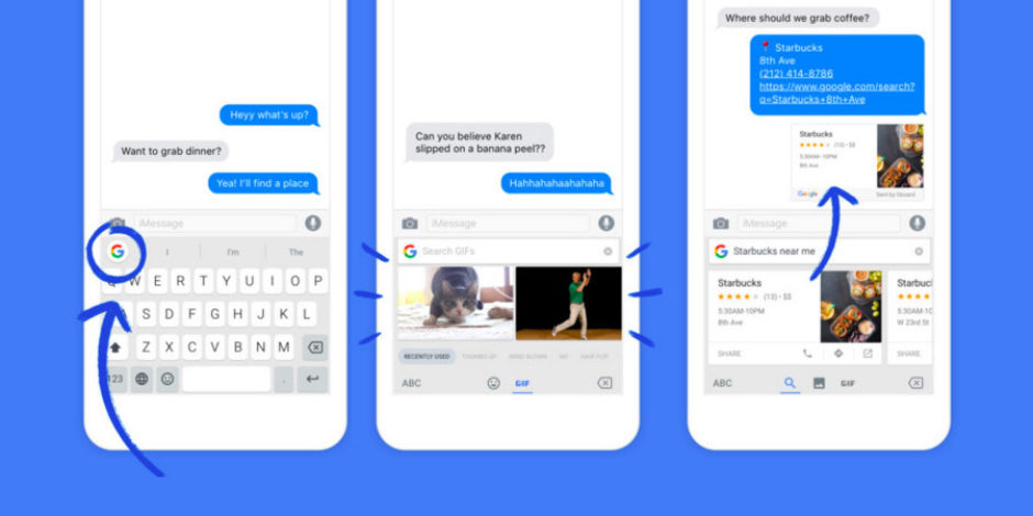 Google, iOS için GIF klavyesini duyurdu