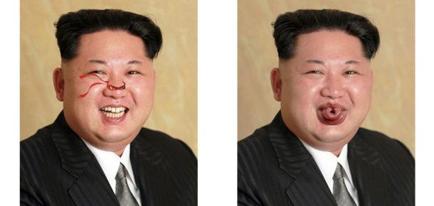 Kim Jong Un'un yeni fotoğrafına, Photoshop'çuların 10 efsane dokunuşu