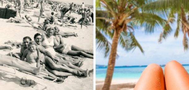 Eski fotoğraflarla günümüz fotoğraflarının farkı