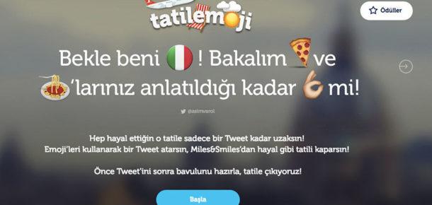 """Emoji kampanyaların en yeni örneği """"Tatilemoji"""""""