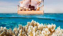 Airbnb'nin gözdeleri arasında bulunan yüzen ev