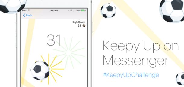 Facebook Messenger'da yeni gizli oyun: Futbol