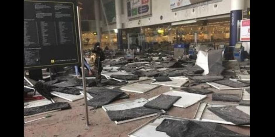 Atatürk Havalimanı'nda yaşanan patlamanın sosyal medyadan ilk görüntüler