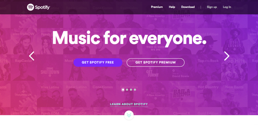 spotify-visual-hierarchy