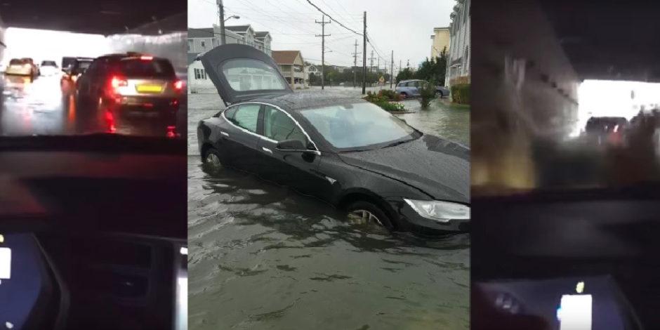 Elon Musk: Tesla Model S suda yüzebilir ama lütfen denemeyin