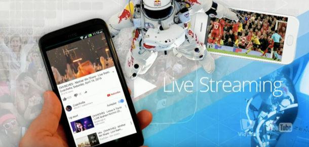 Artık YouTube mobil uygulamasından direkt canlı yayın yapabilirsiniz