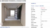 Sahibinden.com'daki evlerde Pokémon rüzgarı