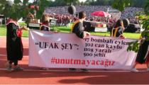 ODTÜ mezunlarının dikkat çeken 32 pankartı