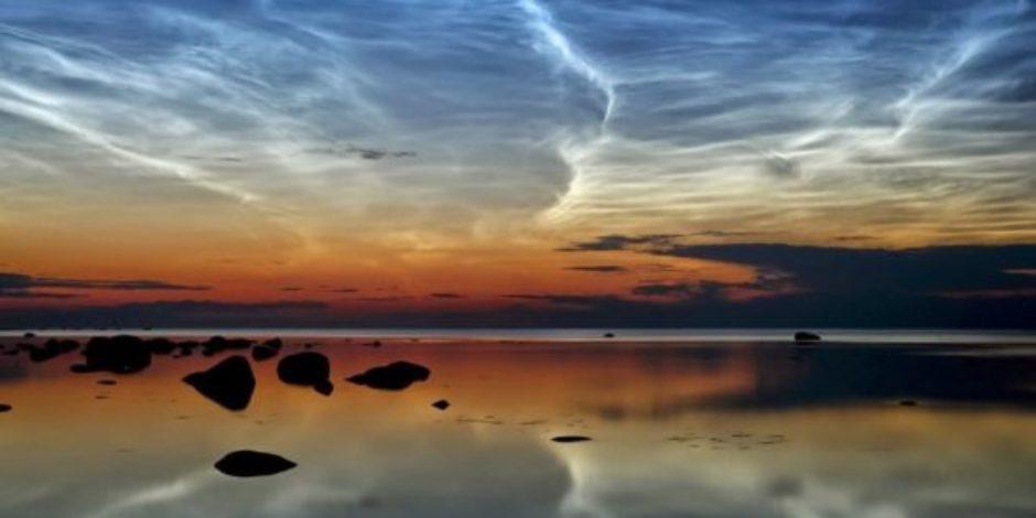 """Bir doğa harikası olan """"elektrik"""" bulutlar"""