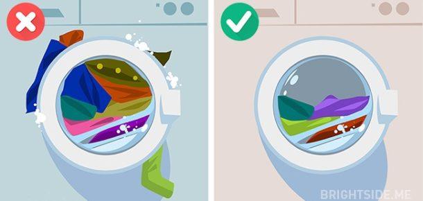 Giysileri yıkarken yapılan 10 yaygın hata