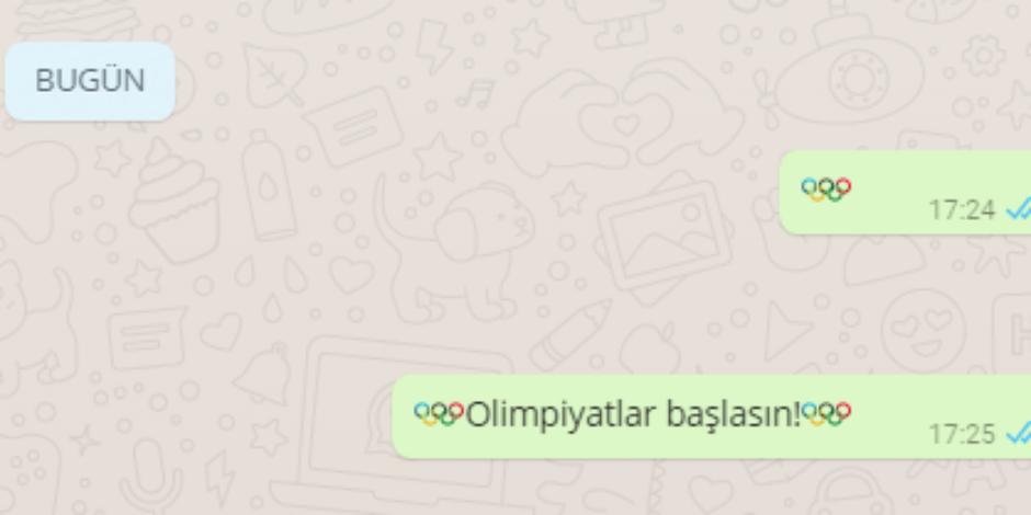 WhatsApp'ta gizli bir olimpiyatlar emojisi var