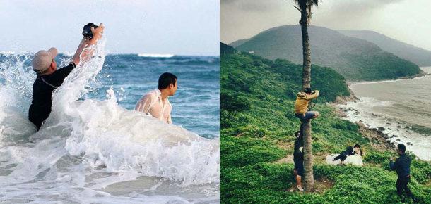Düğün fotoğrafçılarının çılgın olduğunu kanıtlayan 15 fotoğraf