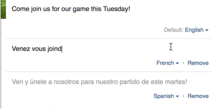 Facebook çeviri servisini herkesin hizmetine sundu