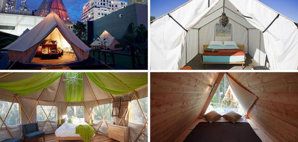 Otel lüksünden vazgeçmeden kamp yapmanızı sağlayan 10 yer