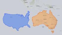 Haritalara bakış açınızı değiştirecek karşılaştırmalar