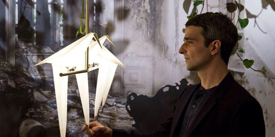 Origami lamba tasarımıyla dünyanın gönlünü çalan tasarımcı: Umut Yamaç