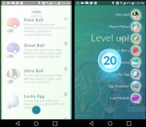 Pokémon Go'da 20. seviyeden sonra yaşanan büyük değişiklik