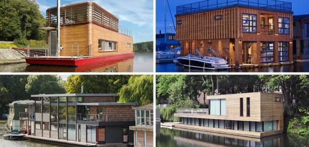 Modern tekne evlere 11 harika örnek
