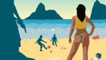 Yurt dışına tatile gitmeden önce bu çalışmaya göz atın: Dürüst tatil posterleri