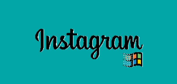 Instagram Win95'de olsaydı nasıl görünürdü?