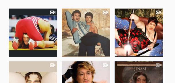 Instagram'da sıra dışı bir hesap: Var Böyle Tipler