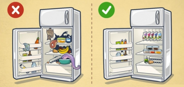 Buzdolabınızı düzenlemenin akıllı yolları