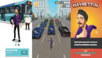 Hayrettin artık bir mobil oyun karakteri