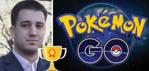 Pokémon yakalamak için dünyayı gezecek olan adam