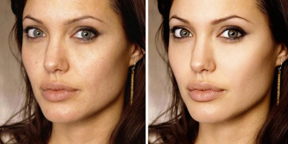 Ünlülerin Photoshoptan önceki ve sonraki hallerini gösteren 20 fotoğraf