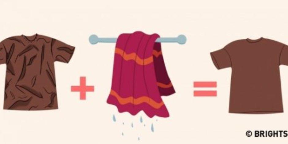 Kıyafetinizindeki kırışıklıklardan ütü olmaksızın kurtulmanın 9 yolu