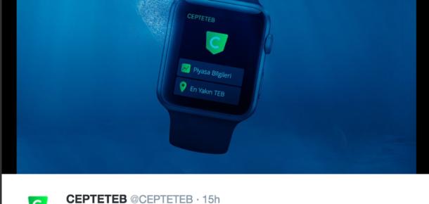 Markaların Apple etkinliği için ürettiği gerçek zamanlı içerikler