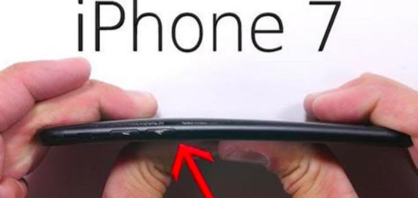 iPhone 7'nin çizilme ve bükülme testi