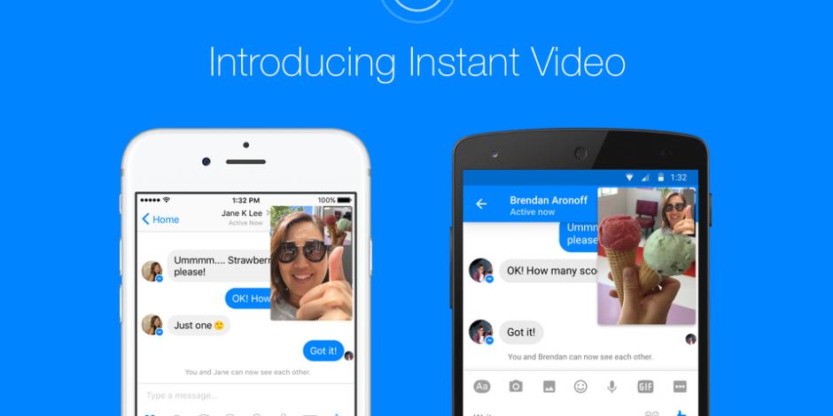 Snapchat'i rahat bırakmayan Facebook, Messenger'a  anlık video görüşme özelliği getiriyor