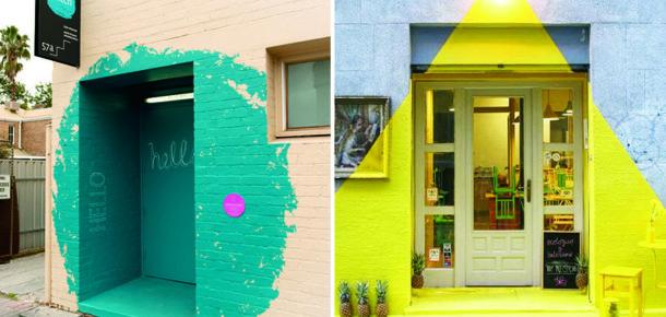 Girişte parlak renk kullanımı, daha fazla dikkat çekmenizi sağlıyor