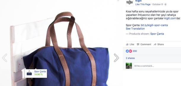 Türkiye'de de kullanıma açılan Facebook satış odağındaki yeni reklam çözümü