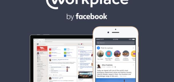 Facebook şirketler için sosyal ağı Workplace'i açtı
