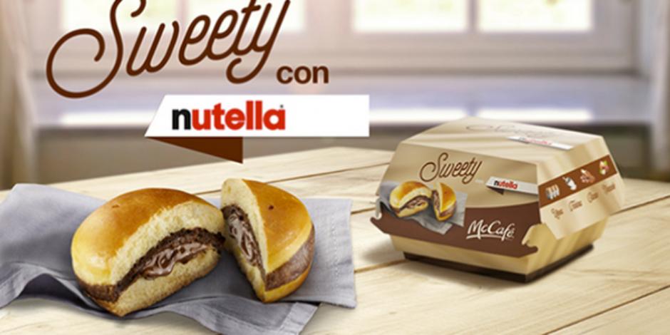 McDonald's'ın son harikası: Nutella Burger