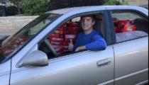 Araba dolusu Kit Kat'ı çaldıran kampanya