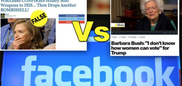 Facebook'un ve internetin sahte haber problemi
