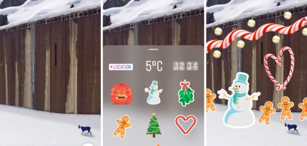 Instagram'da sticker ve 'hands-free' video özelliği