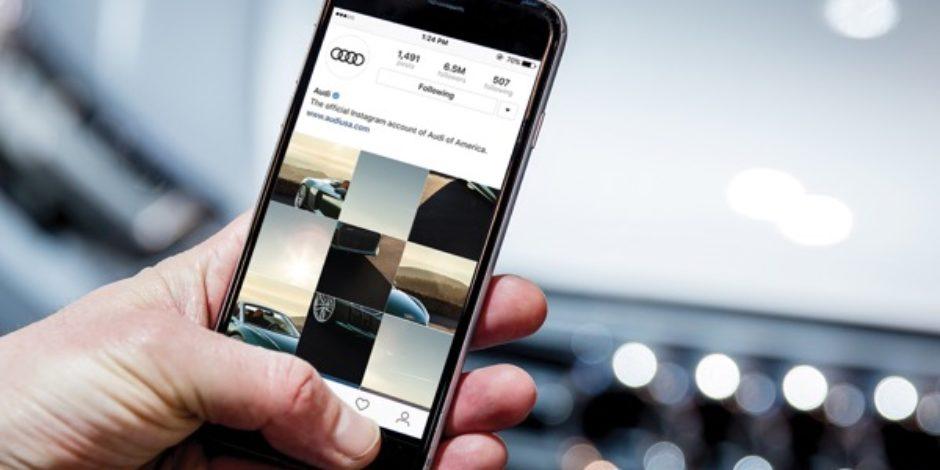 Instagram'ın yeni özelliğini ilk kullanan marka: Audi