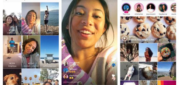 Instagram'ın yeni güncellemesi ile canlı yayın ve diğer özellikler geldi
