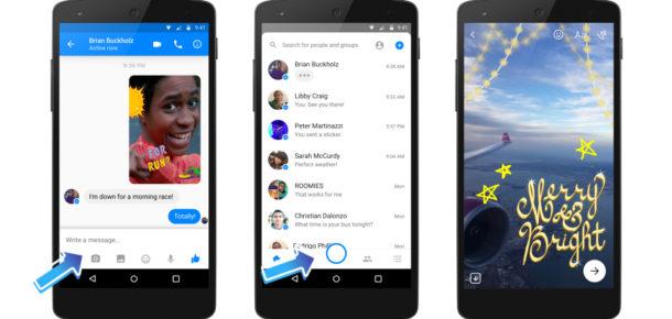 Facebook Snapchat rekabetini abarttı: Instagram'dan sonra Messenger'a da Snapchat özellikleri