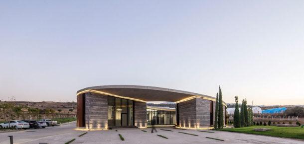 Tasarımı ile hayranlık uyandıran Afyon'da bir peynir fabrikası
